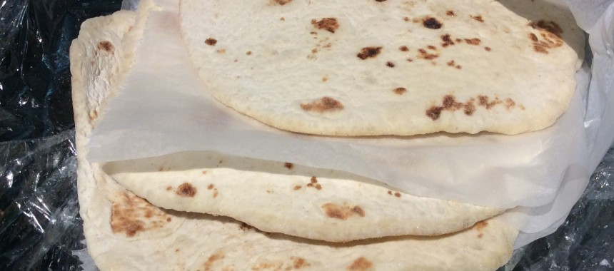 Flat bread or tortillas