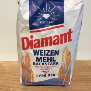 German strong white bread flour