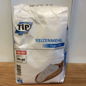 German plain flour