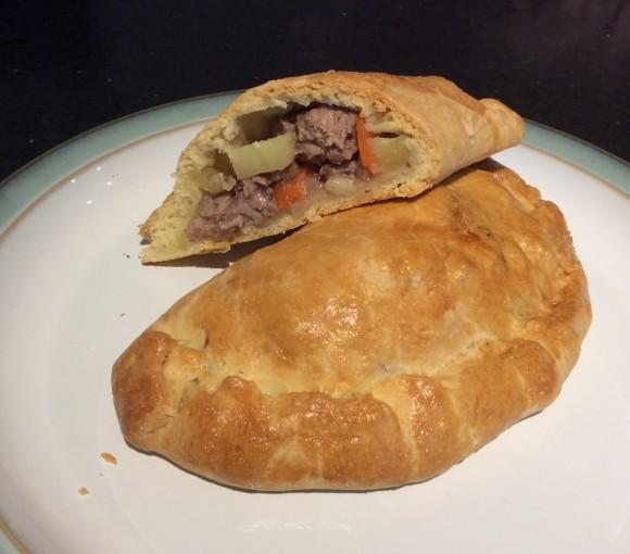 Meaty Cornish Pasty