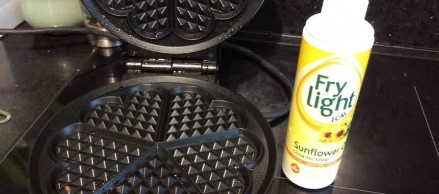 Apple and Cinnamon Waffles