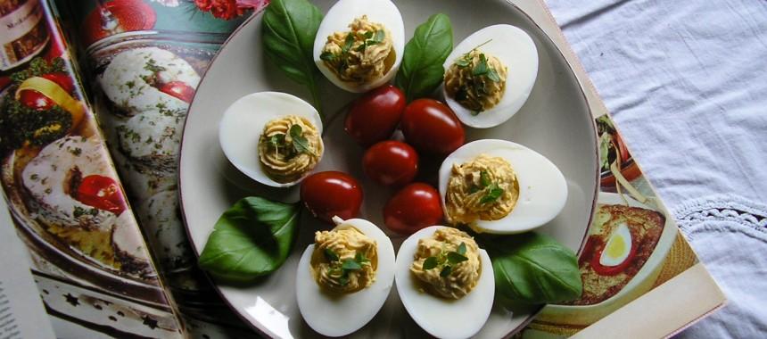 Vintage Stuffed Eggs
