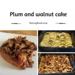 Plum and Walnut Cake