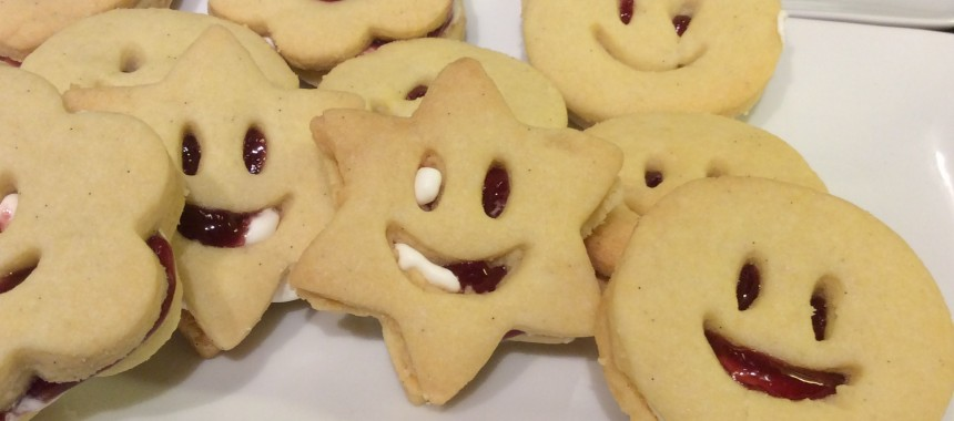 Smiley Faces Biscuits