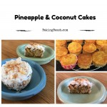 Pineapple and Coconut Cakes