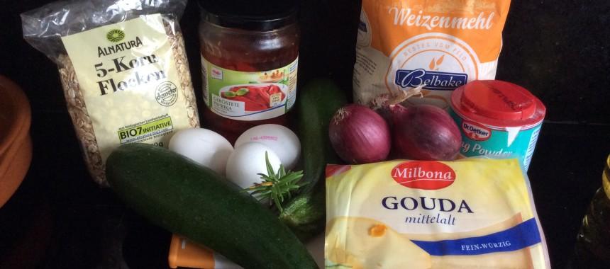 Zucchini Savoury Pudding