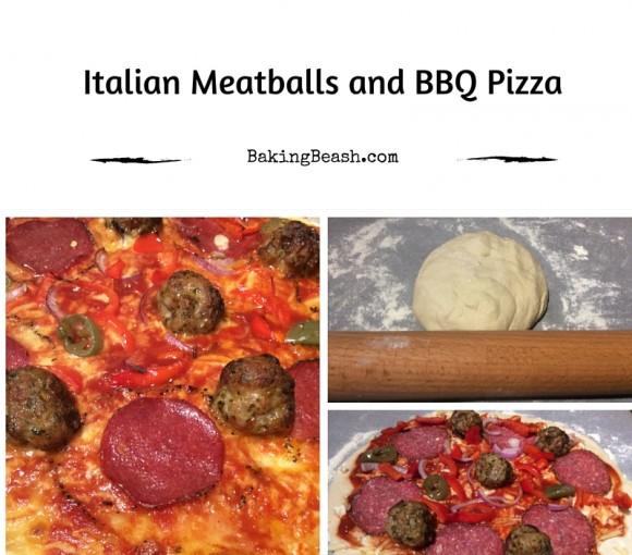 Italian Meatballs & BBQ Pizza