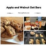 Apple and Walnut Oat Bars