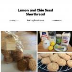 Lemon and Chia Seed Shortbread