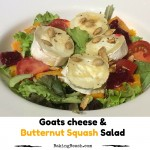 Goats Cheese and Butternut Squash Salad
