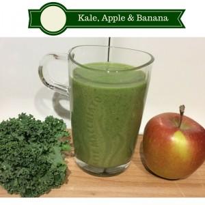 Kale, Apple & Banana Smoothie