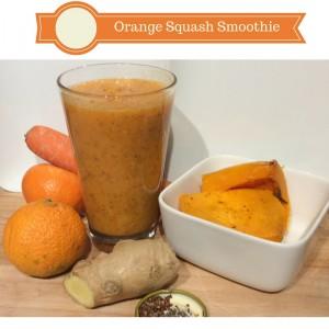 orange squash smoothie