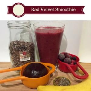 Red Velvet Smoothie