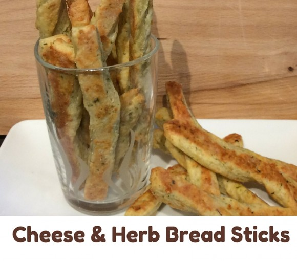 Cheese and Herb Bread Sticks 2