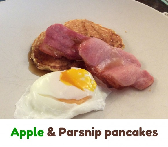 Apple and Parsnip Pancakes 2