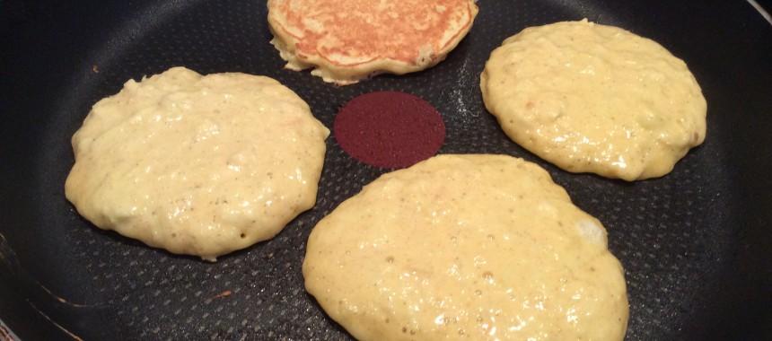 Apple and Parsnip Pancakes