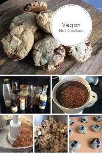 vegan nut cookies 2