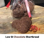 Low GI Chocolate Shortbread