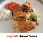 Vegetable Samosa Pasties