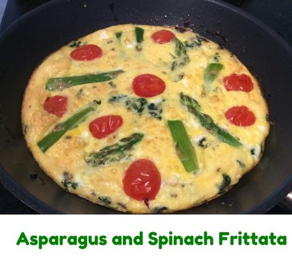 Asparagus and Spinach Frittata 2