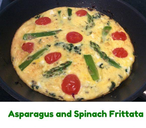 Asparagus and Spinach Frittata 2