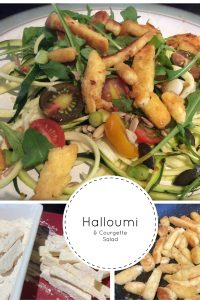 Halloumi and Courgette Salad 3