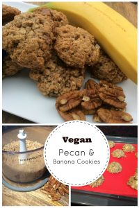 Pecan and Banana Cookies 2