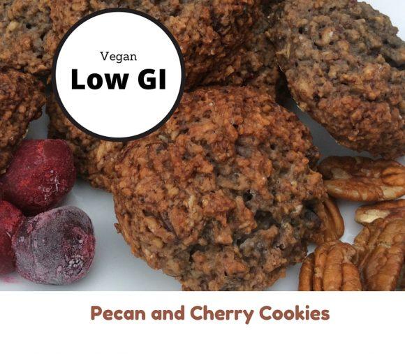 Pecan and Cherry Cookies