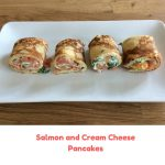 Salmon and Cream Cheese Pancakes