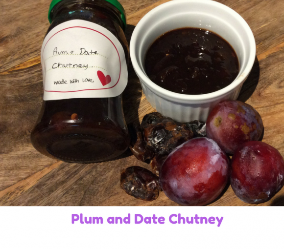 plum and date chutney
