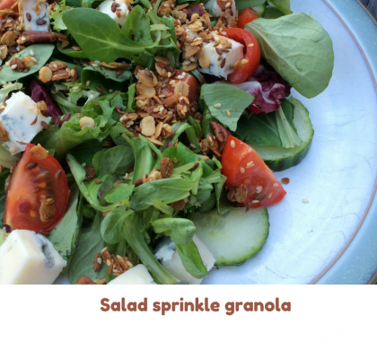 salad sprinkle granola