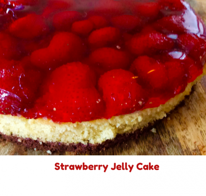Strawberry Jelly Cake 1