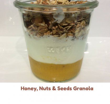 Honey Nuts and Seeds Granola 3
