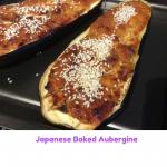 Japanese Baked Aubergine