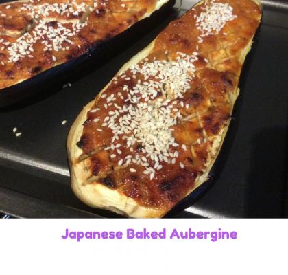 Japanese baked aubergine 2